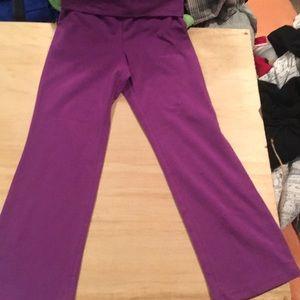 Purple Play Pants
